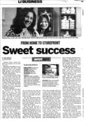Newsday article with Roberta Perry and Michelle Tucker of ScrubzBody