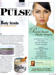 Long Island Pulse Magazine article with ScrubzBody