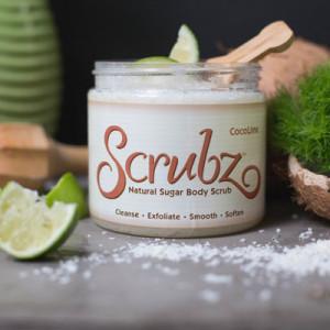 CocoLime Scrubz™ Natural Sugar Scrub