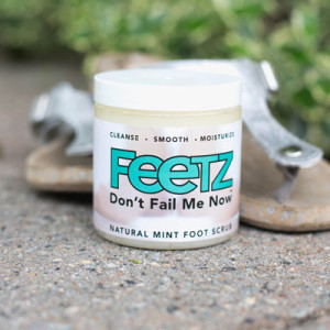 Feetz™ Minty Foot Scrub with shea butter