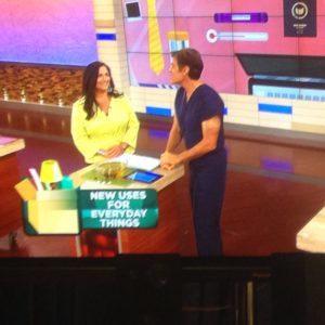 Roberta on Dr. Oz show about tea facials