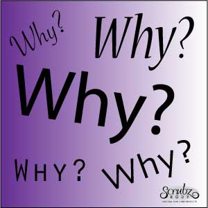 "If you could put your ""why"" into a single word, what would it be? And, well…. why?"