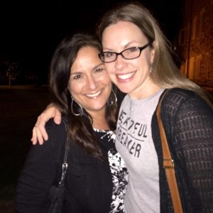 Stacia Guzzo of Handcrafted Honey Bee and Roberta Perry of ScrubzBody