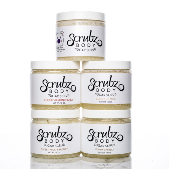 ScrubzBody Scrub in Sweet Scents