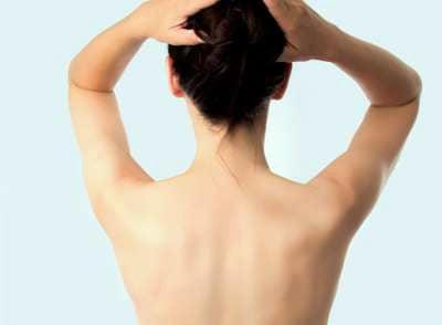 Beautiful skin on back