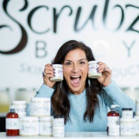 Roberta going crazy for ScrubzBody