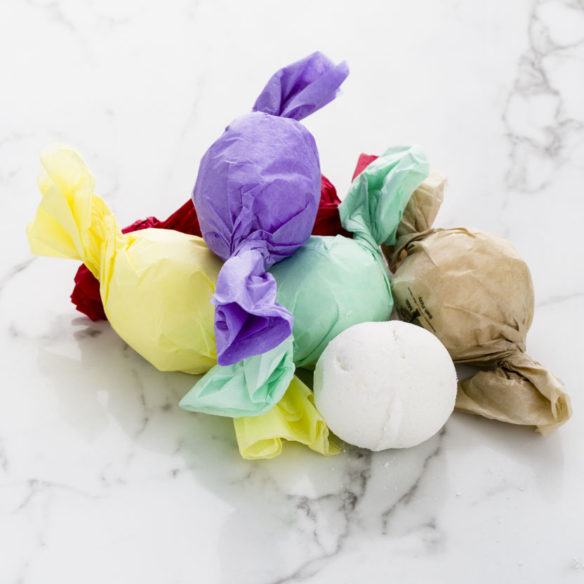 Bath Bomb Fizzie by Lotion Bar Cafe