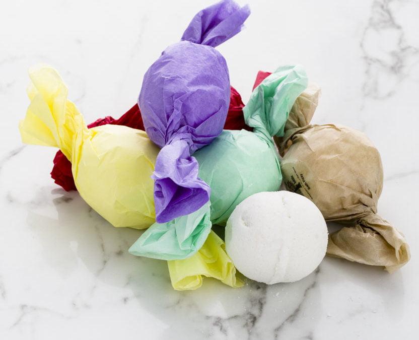 Bath Bomb Fizzies in ScrubzBody Scents