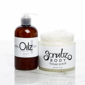 Oilz+ and ScrubzBody Sugar Scrub