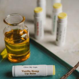 olive my skin lip balm