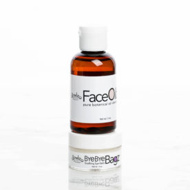 Face Oilz Botanical Oil Cleanser and Bye Bye Bagz