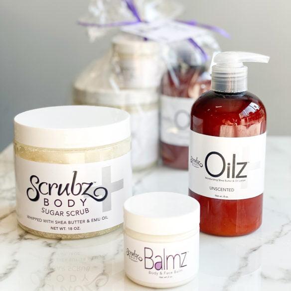 Skin Rewind Set with Scrubz+, Balmz and Oilz+