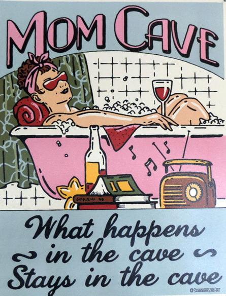 Mom Cave love