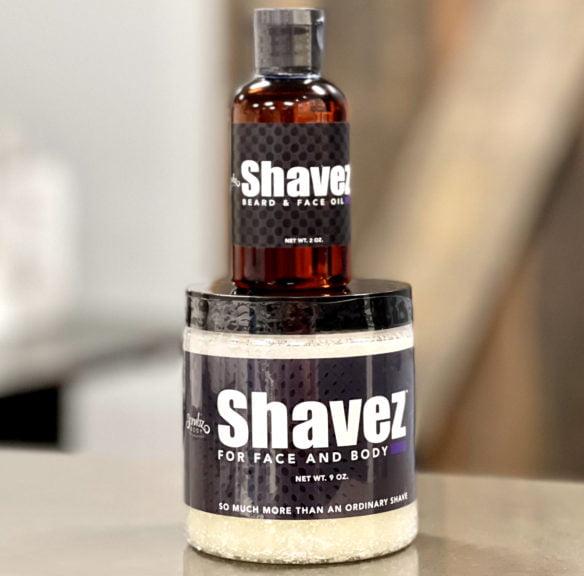 shavez oil and shavez scrub